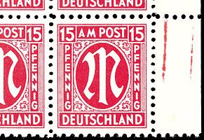 Klassisch perforiert - die Briefmarke